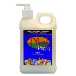 Plush Puppy Deep Cleansing Shampoo With Seaweed Green Tea